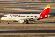 EC-JEI - Iberia Airbus A319 aircraft