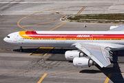 EC-KZI - Iberia Airbus A340-600 aircraft