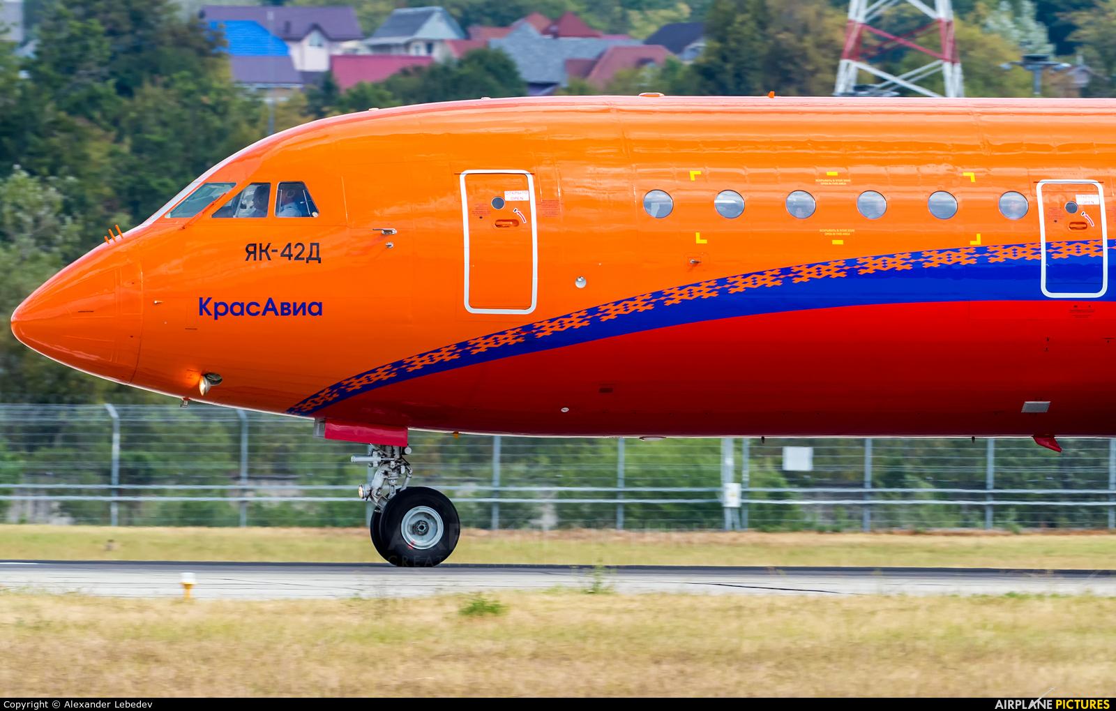 KrasAvia RA-42388 aircraft at Sochi Intl