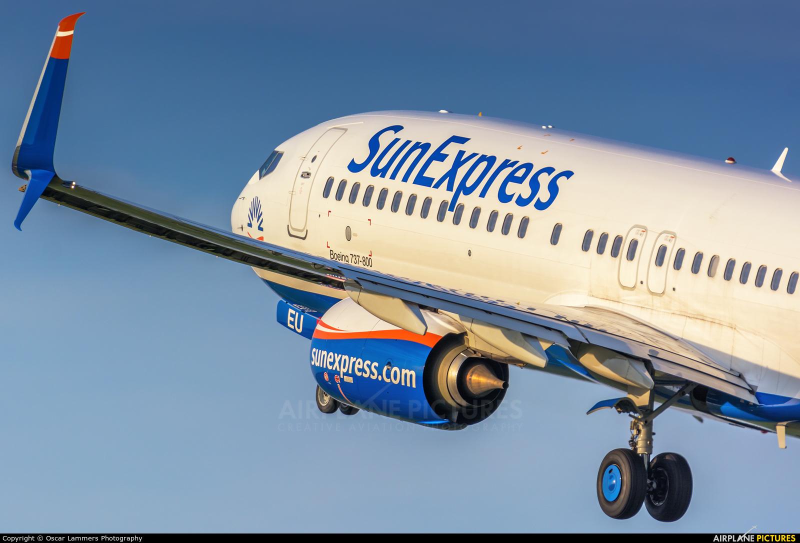 SunExpress TC-SEU aircraft at Amsterdam - Schiphol