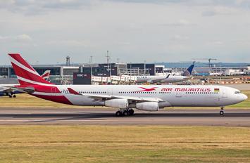 3B-NBI - Air Mauritius Airbus A340-300