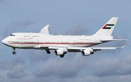 A6-HRM - United Arab Emirates - Government Boeing 747-400 aircraft