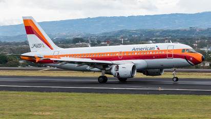 N742PS - American Airlines Airbus A319