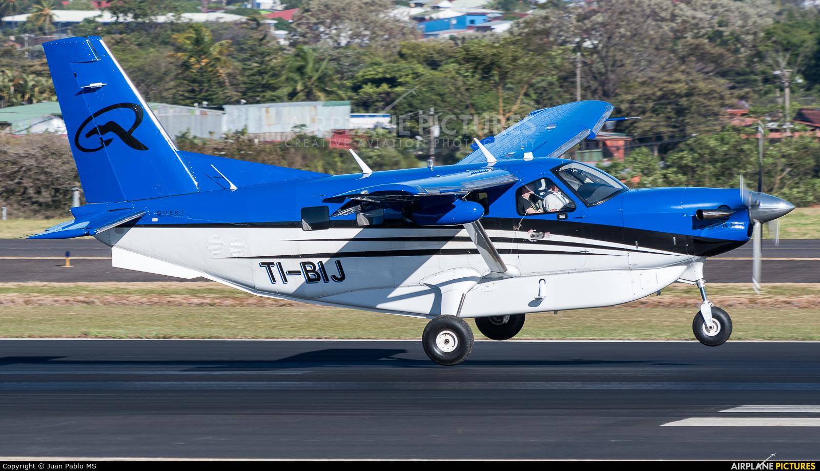 Private TI-BIJ aircraft at San Jose - Juan Santamaría Intl