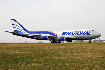 N952CA - National Airlines Boeing 747-400BCF, SF, BDSF