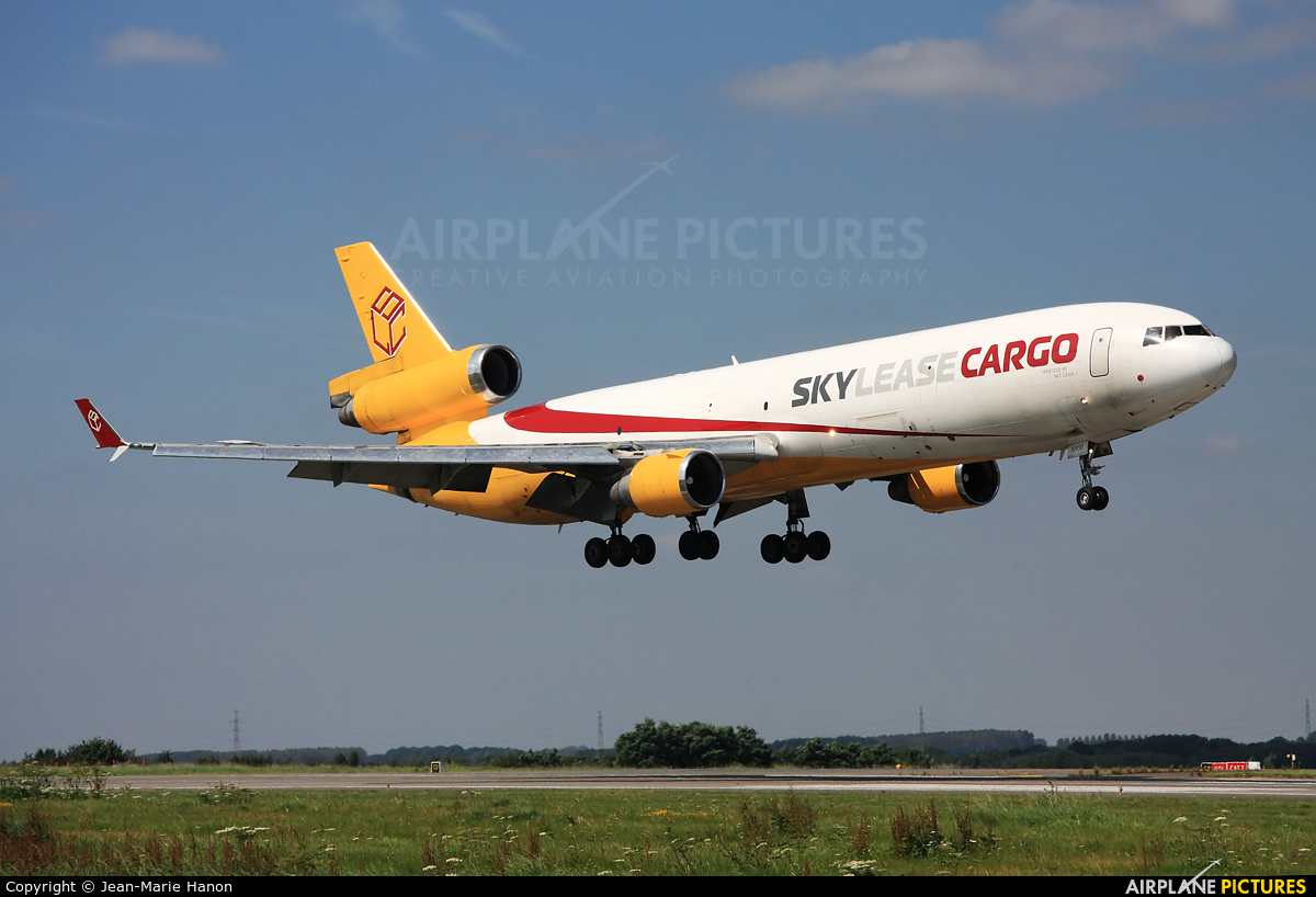 Skylease Cargo N950AR aircraft at Liège-Bierset