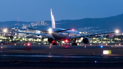 JA708A - ANA - All Nippon Airways Boeing 777-200