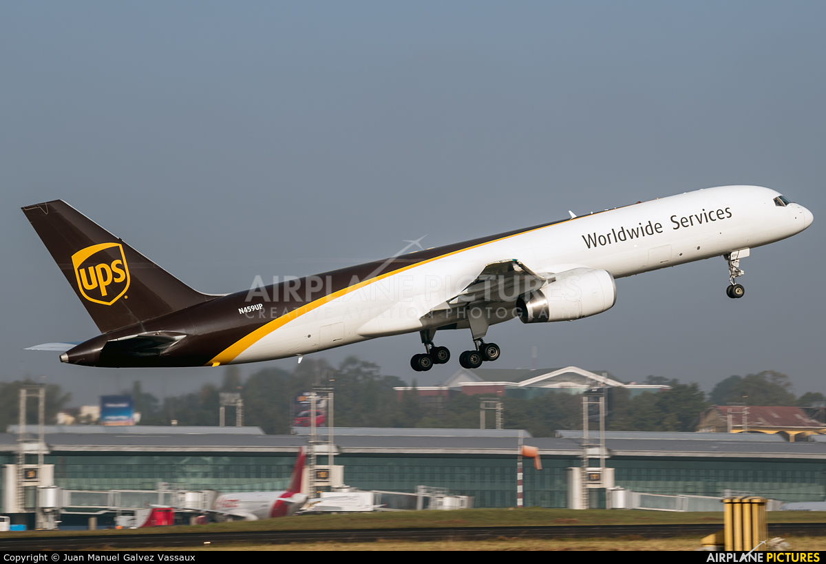 UPS - United Parcel Service N459UP aircraft at Guatemala - La Aurora