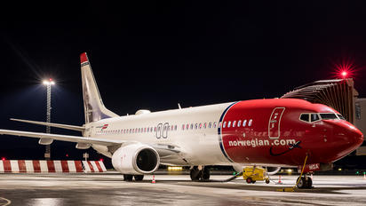 LN-NGA - Norwegian Air Shuttle Boeing 737-800