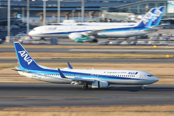 JA82AN - ANA - All Nippon Airways Boeing 737-800