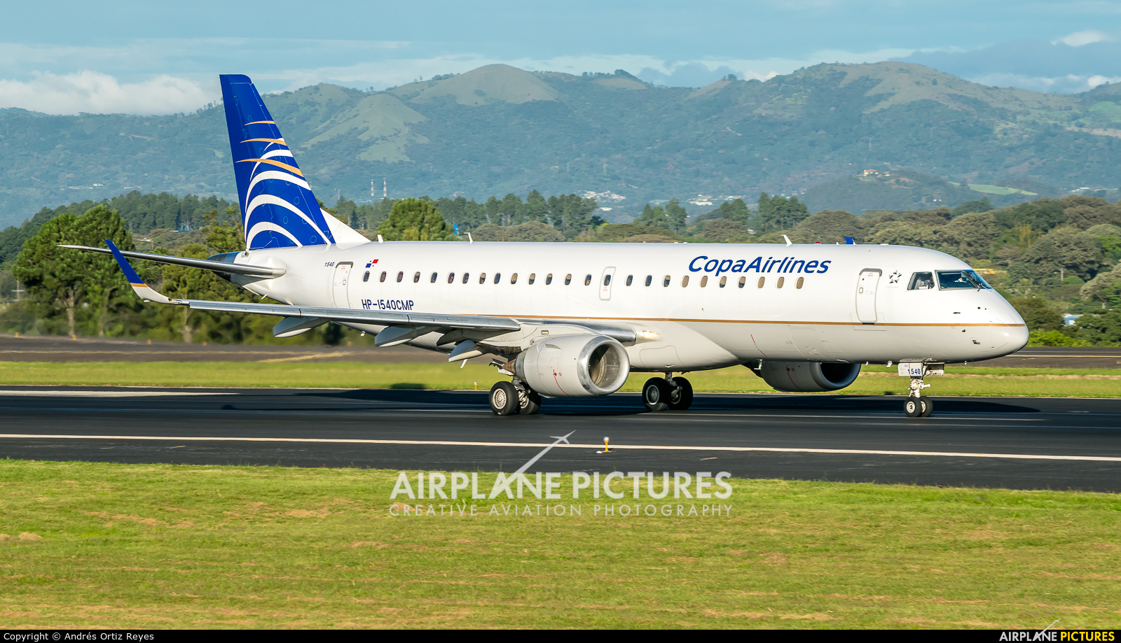 Copa Airlines HP-1540CMP aircraft at San Jose - Juan Santamaría Intl