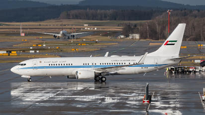 A6-MRM - United Arab Emirates - Government Boeing 737-800 BBJ