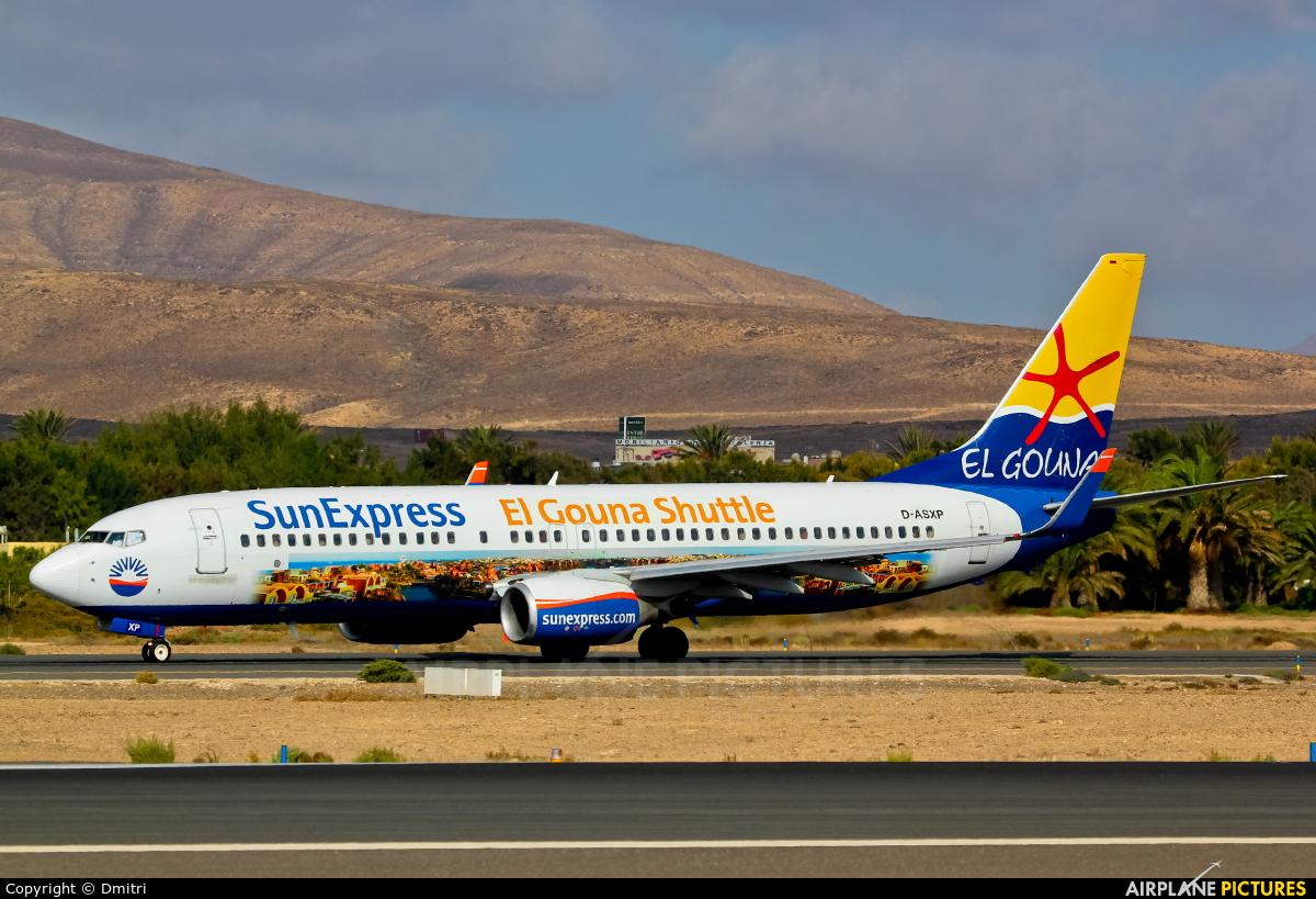 SunExpress Germany D-ASXP aircraft at Fuerteventura - Puerto del Rosario