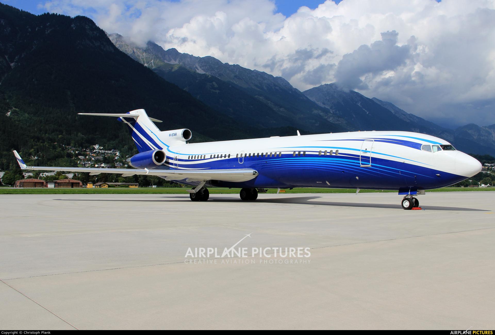 Starling Aviation M-STAR aircraft at Innsbruck