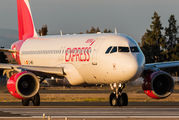 EC-MEH - Iberia Express Airbus A320 aircraft