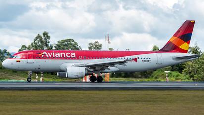 N398AV - Avianca Airbus A320