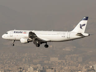 EP-IEG - Iran Air Airbus A320