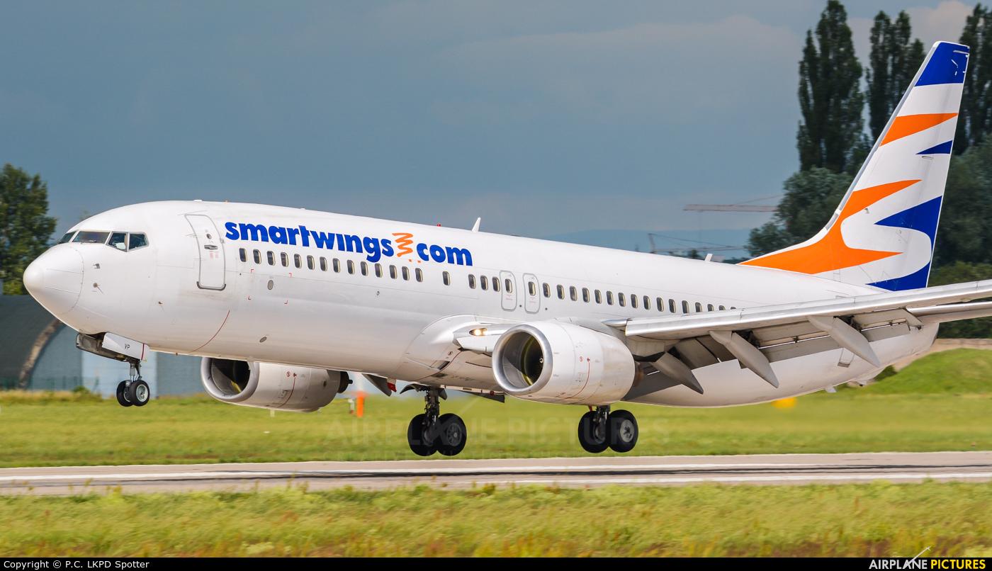 SmartWings OK-TVP aircraft at Pardubice