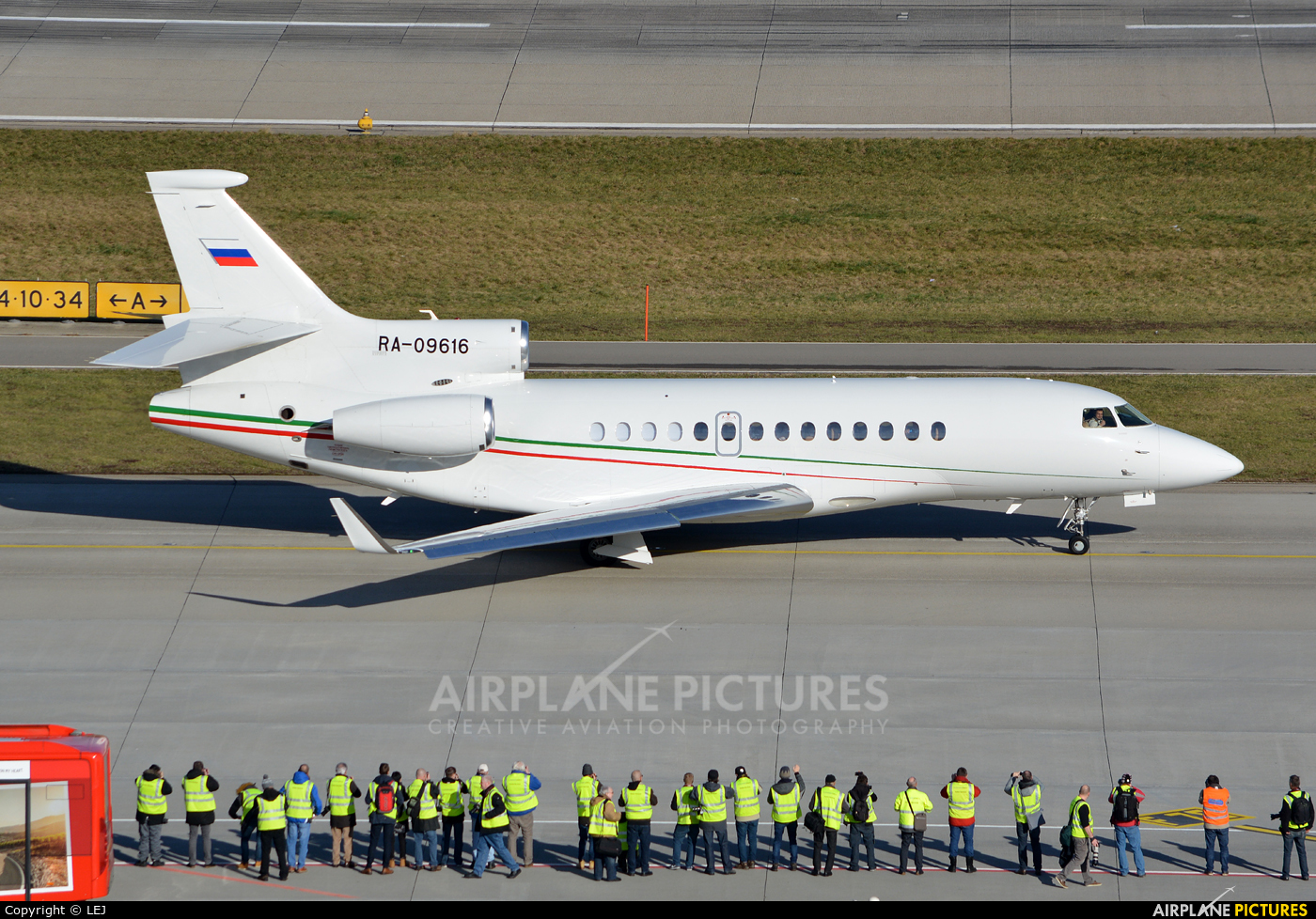 Private RA-09616 aircraft at Zurich
