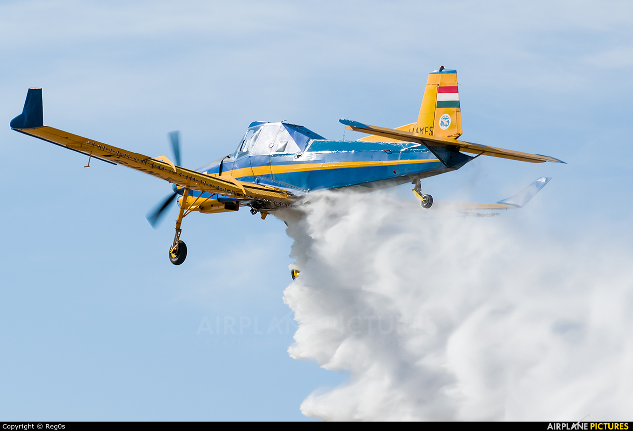 Aero Wasp HA-MFS aircraft at Szeged
