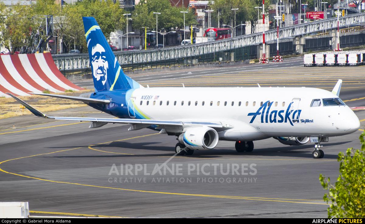 Alaska Airlines - Skywest N183SY aircraft at Mexico City - Licenciado Benito Juarez Intl