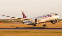 A7-BCW - Qatar Airways Boeing 787-8 Dreamliner aircraft