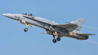 C.15-39 - Spain - Air Force McDonnell Douglas EF-18A Hornet
