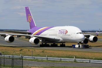 HS-TUA - Thai Airways Airbus A380