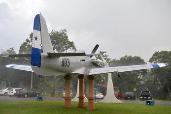 FAH-403 - Honduras - Air Force Bell P-63 Kingcobra