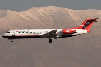 EP-FQI - Qeshm Airlines Fokker 100