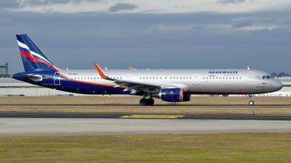 VP-BES - Aeroflot Airbus A321