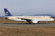 HZ-AS32 - Saudi Arabian Airlines Airbus A320 aircraft