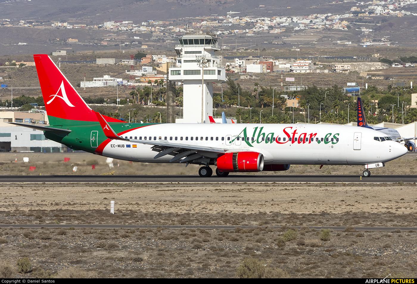 AlbaStar EC-MUB aircraft at Tenerife Sur - Reina Sofia
