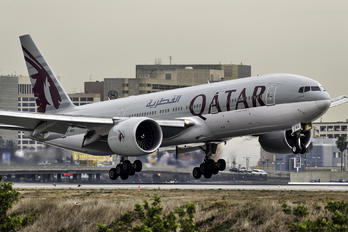 A7-BBG - Qatar Airways Boeing 777-200LR