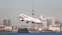 JA839J - JAL - Japan Airlines Boeing 787-8 Dreamliner aircraft