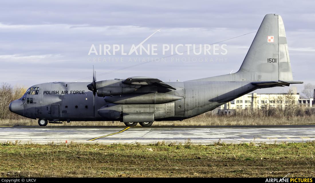 Poland - Air Force 1501 aircraft at Craiova