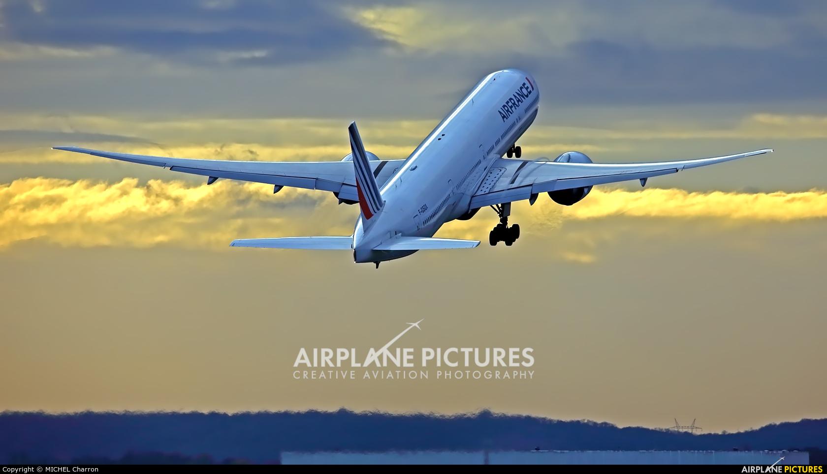 Air France F-GSQX aircraft at Paris - Orly