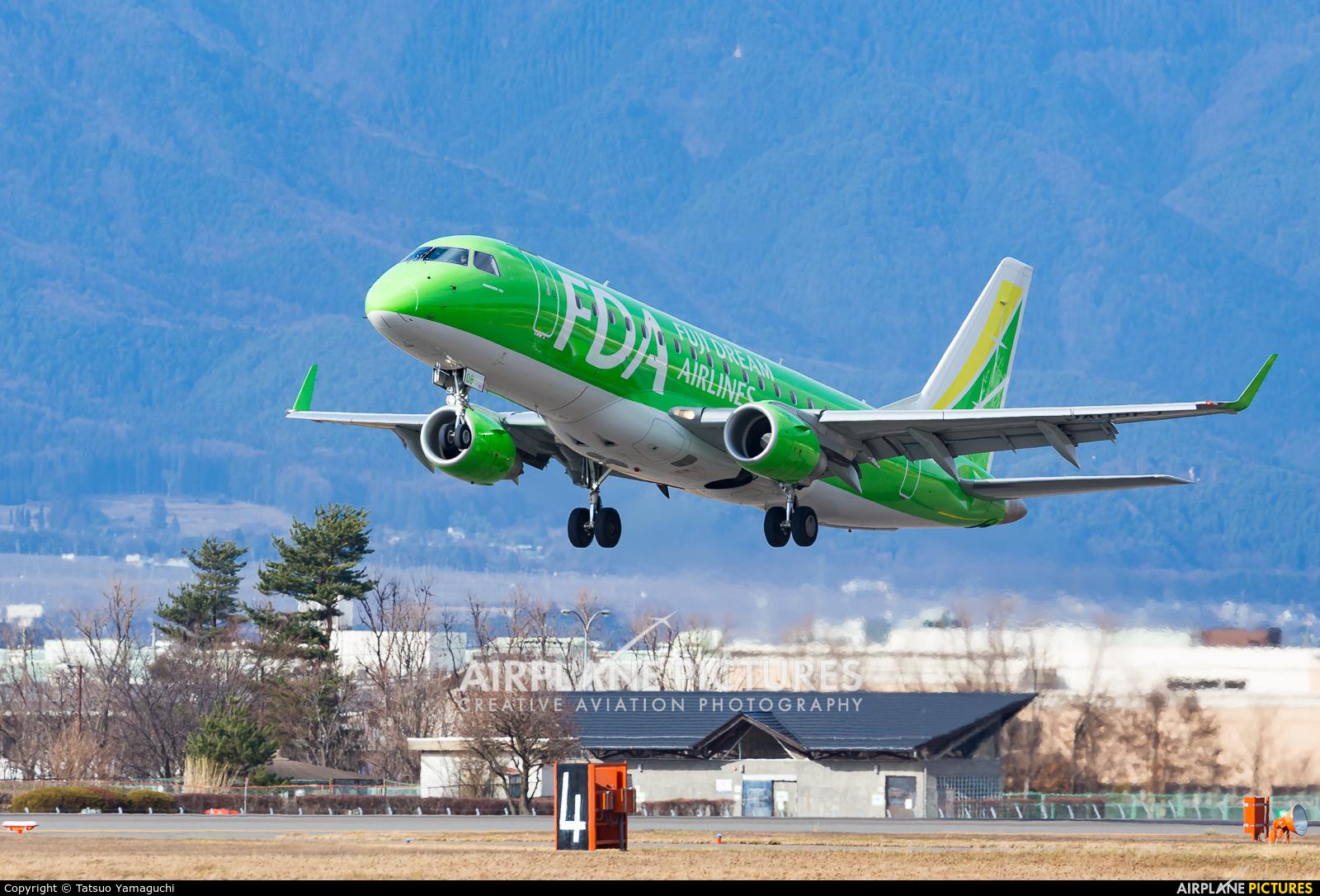 Fuji Dream Airlines JA08FJ aircraft at Shinshu - Matsumoto