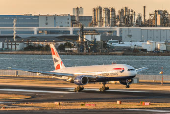 G-YMMP - British Airways Boeing 777-200ER