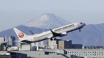 JA337J - JAL - Japan Airlines Boeing 737-800 aircraft
