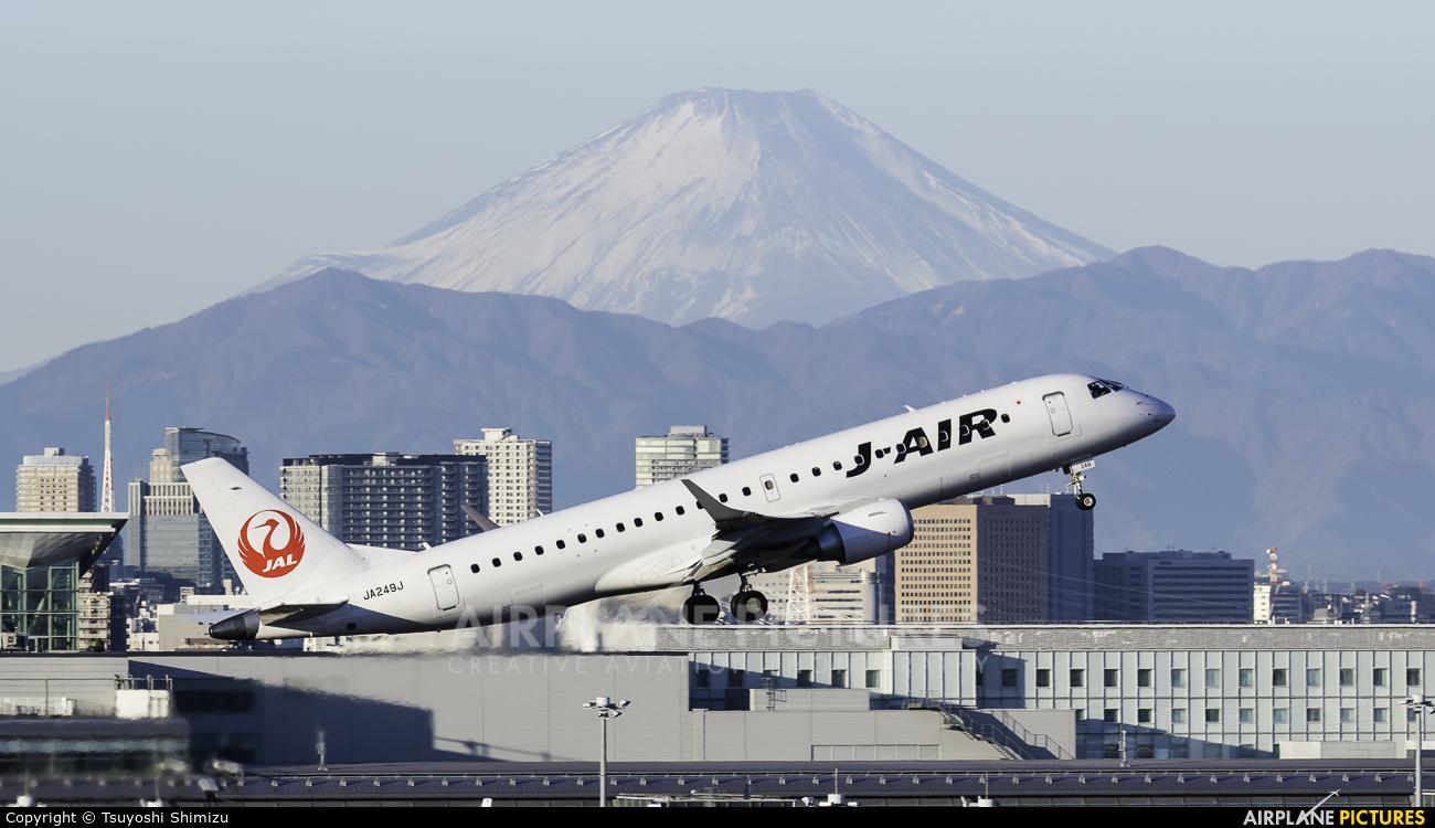 J-Air JA249J aircraft at Tokyo - Haneda Intl