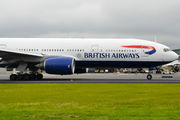 G-YMMD - British Airways Boeing 777-200 aircraft