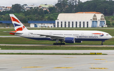 G-YMMN - British Airways Boeing 777-200