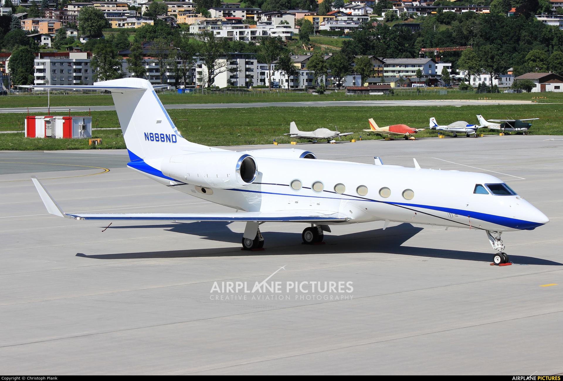 NPM Equipment Leasing LLC N888ND aircraft at Innsbruck