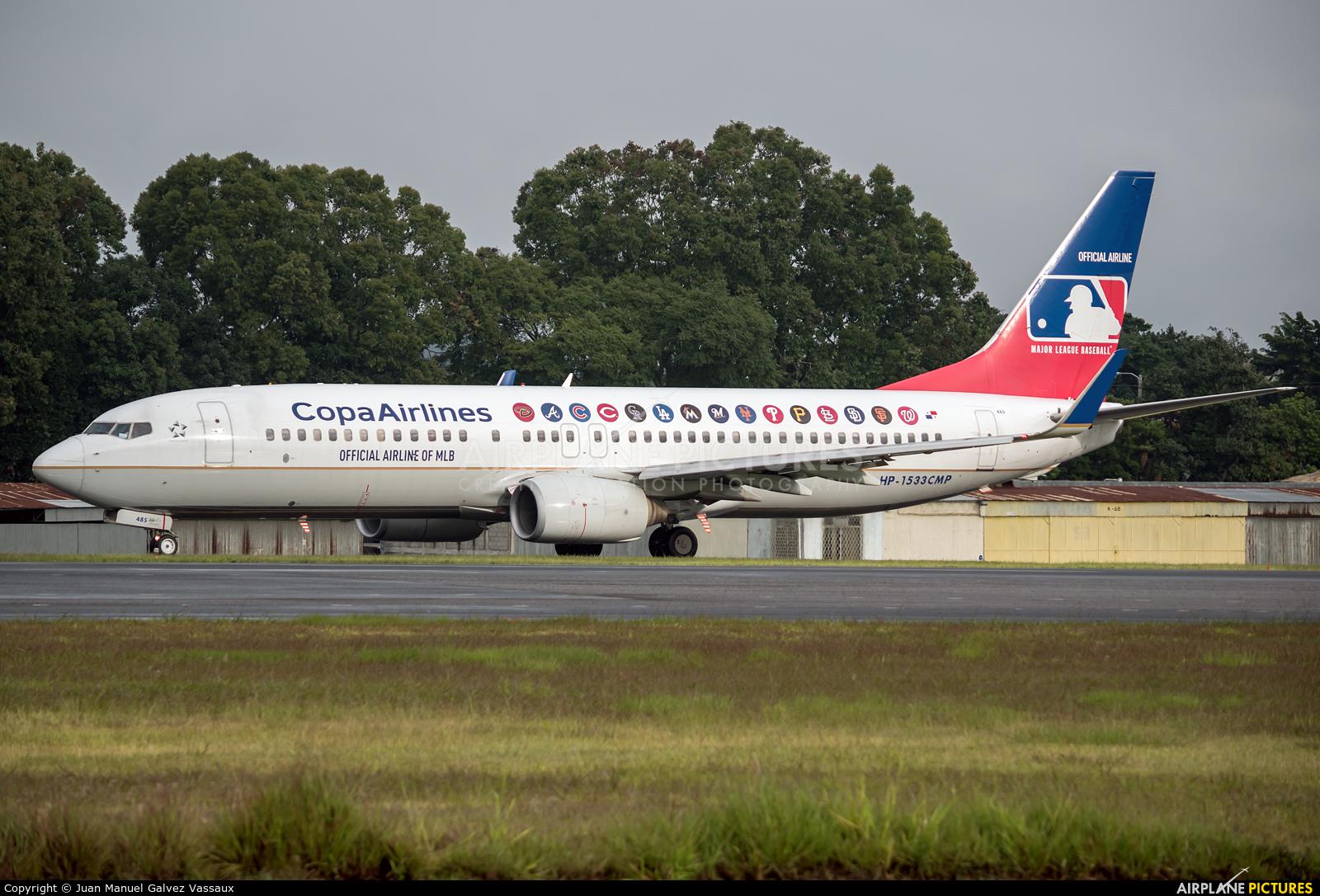 Copa Airlines HP-1533CMP aircraft at Guatemala - La Aurora