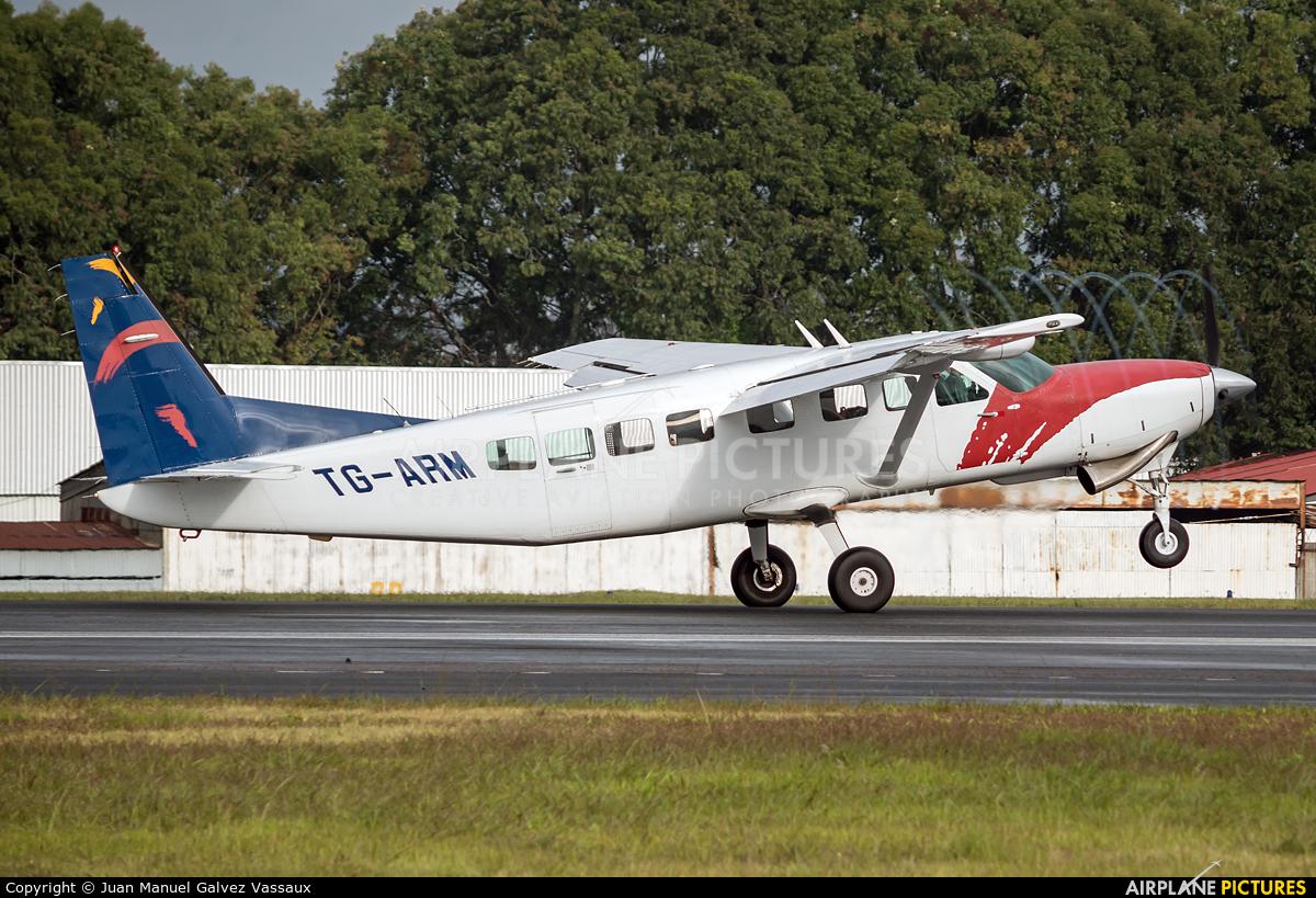 Private TG-ARM aircraft at Guatemala - La Aurora