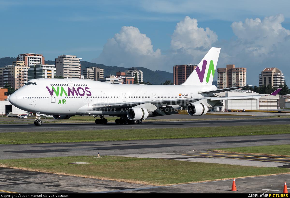 Wamos Air EC-KSM aircraft at Guatemala - La Aurora