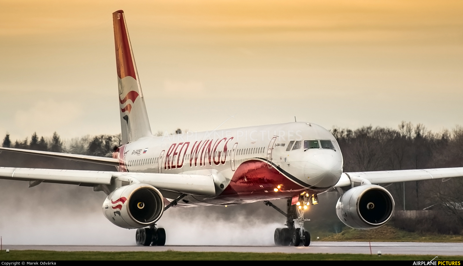 Red Wings RA-64050 aircraft at Pardubice