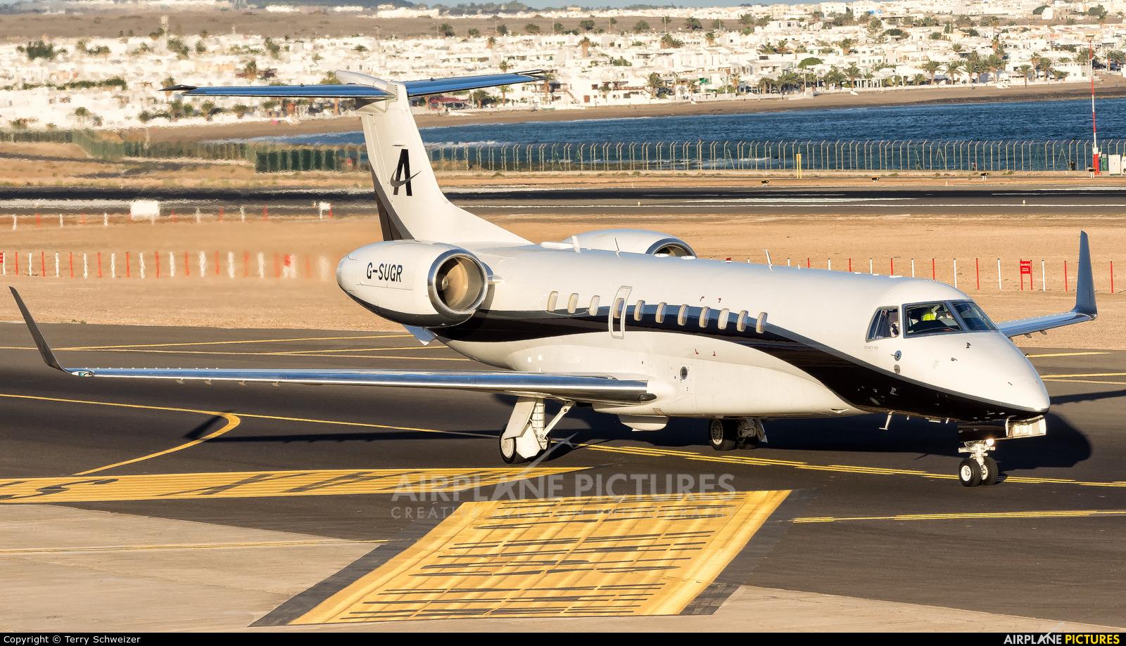 Air Charter Scotland G-SUGR aircraft at Lanzarote - Arrecife