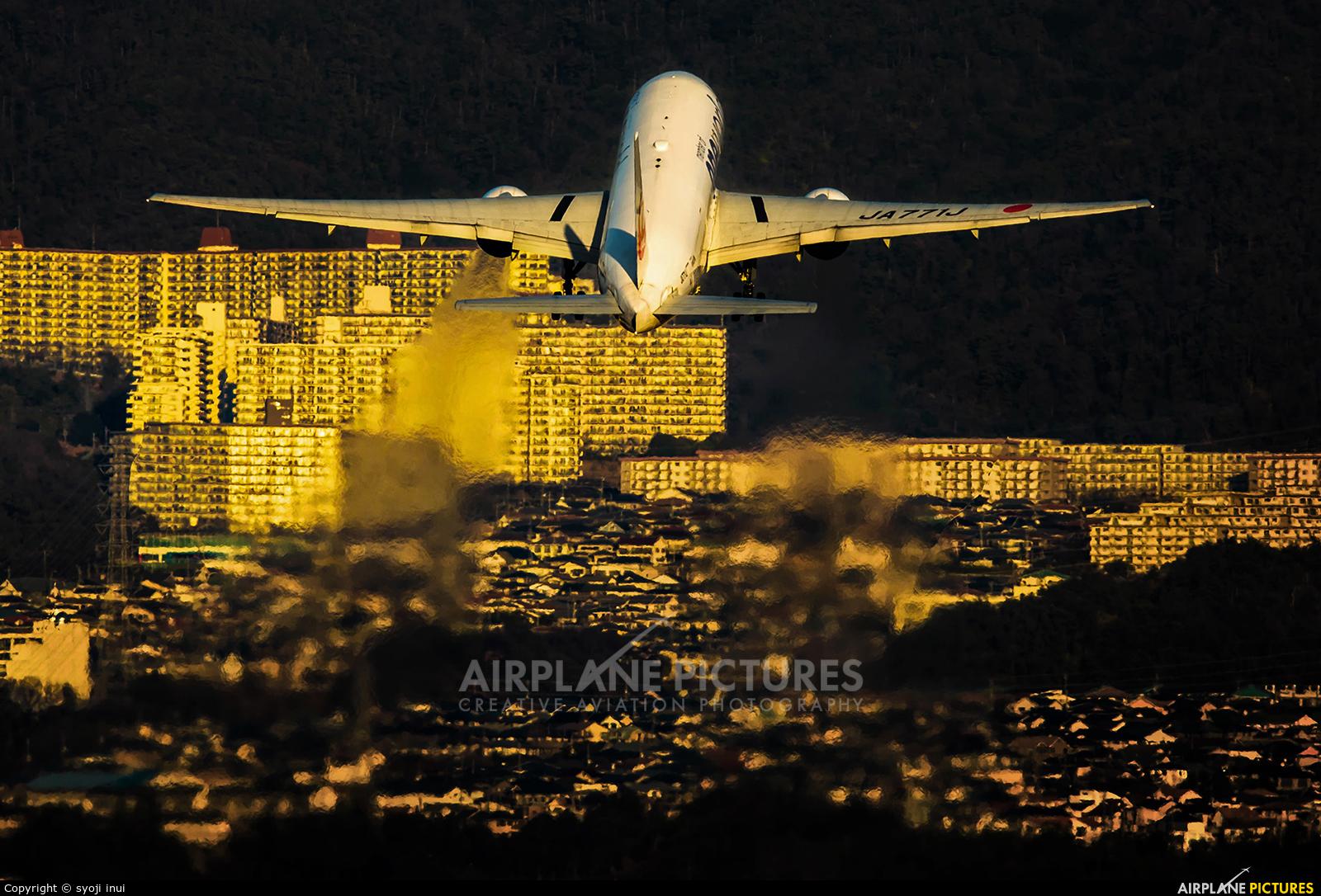 JAL - Japan Airlines JA771J aircraft at Osaka - Itami Intl